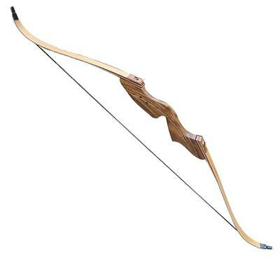 """NEW Archery Takedown Recurve Bow 55# Right Hand 60"""" AMO Length Hunting Target"""