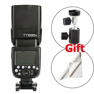 New Godox TT685S 2.4G HSS TTL II GN60 Camera Flash Speedlite fr Sony a77II