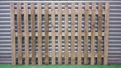 Picket Fence Panels 6X3-6X4 Garden,Landscaping,Roundtop leicester