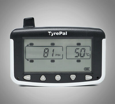 TyrePal TC215/B Tyre Pressure Monitoring System TPMS with 6 Sensors