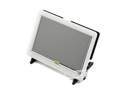 "Gehäuse Bracket Case für 5""/7"" Raspberry Pi 2 B/B+ Touch Screen Display HDMI LCD"