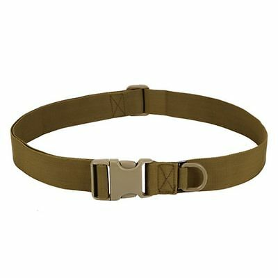 Mens Adjustable Tactical Belt Plastic Buckle Waistband Military Rescue Rigger