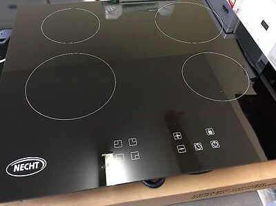 Necht JZDHQ4W60BC 60cm Touch Control Ceramic Electric Hob