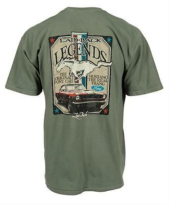 Ford Mustang Laid-Back T-Shirt XL Legend Pony Shelby Boss 302 Fastback Kult USA