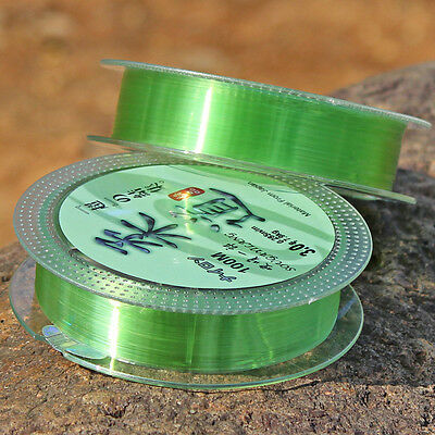 Light Green Fishing Tackle Lines Nylon Fluorocarbon Line 100m/109yd Lines (1pc)