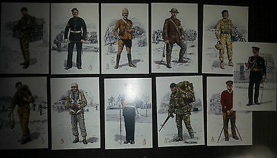 Set of Military Postcards Royal Army Medical Corps Alix Baker