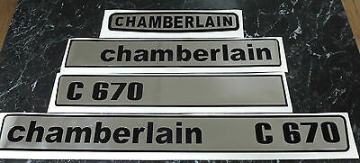Chamberlain C670 C6100 Decal Set