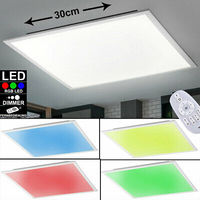 RGB LED ceiling living room light white 20W panel lamp color changing switchable