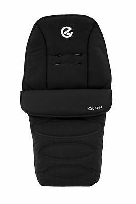Babystyle Footmuff for Oyster 2, Max, Switch, Imp, Lite & Zero Pushchairs BLACK