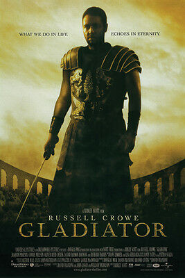 #Z92 Gladiator Russell Crowe Movie Poster 24X36
