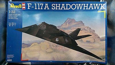maquette revell f 117a shadowhawk 1/32