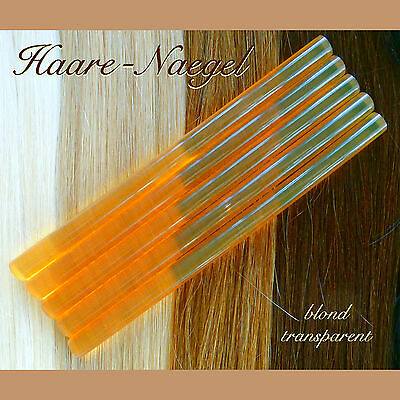 blonde Keratin Sticks Gr. M, Gluesticks, Granulat Extensions 1/3/5/12/20 S