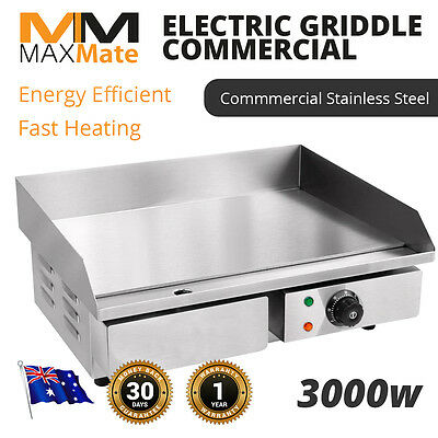 NEW  Commercial Griddle Grill Commercial Countertop Grill Food Grade Stainless