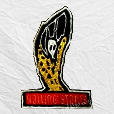 Voodoo Lounge Logo Embroidered Patch The Rolling Stones Mick Jagger Rock Band