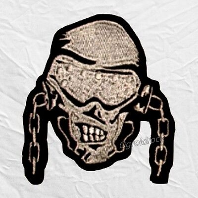 Megadeth Skull Logo Embroidered Patch Dave Mustaine Heavy Metal Rock Band