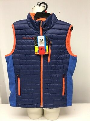 FREE COUNTRY POWER DOWN VEST BOYS KIDS SIZE L-14/16 Navy