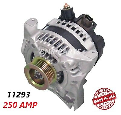 250 Amp 11293 Alternator Ford F Super Duty High Output Performance HD USA NEW