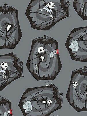 Nightmare Before Christmas Fabric * Pumpkin King * In Stock * Free Post *