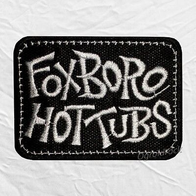 Green Day Foxboro Hot Tubs Logo Embroidered Patch Rock Band Billie Joe Armstrong