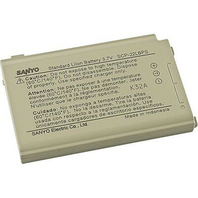 NEW OEM Authentic Sanyo Original SCP-22LBPS Battery SCP-7050 SCP-8400