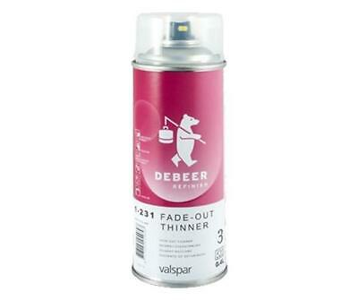 Valspar Debeer Fade-Out 1-231 Thinner 400ml Aerosol