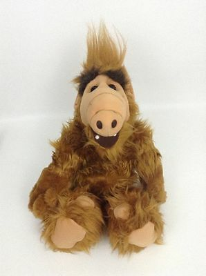 "Vintage 1986 Plush Wise Cracking TALKING ALF Alien Life Form TV Show Lg 19"" Toy"