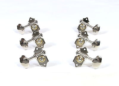 For Slotted Headstock Acoustic guitar Nickel plated machine Tuning peg-326NS1-D6