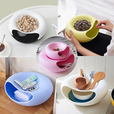 Snack Plastic Storage Box Office Desktop Kitchen Bathroom Shelving Cosmetic Box