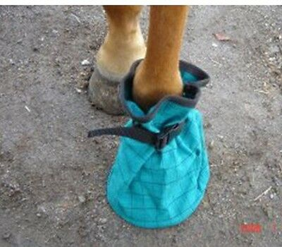 Strong Canvas Poultice Horse Boot - D/Green * BACK IN STOCK..!! *NEW