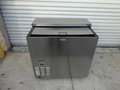 "2012 Perlick FR36 Stainless Steel 36"" Underbar Glass Mug Froster Chiller"