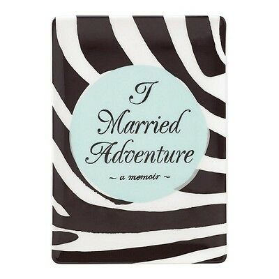NEW Kate Spade Away With Words Married Adventure Tray 12 x 17cm