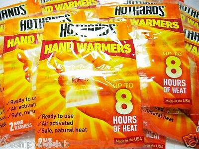 16 HOT HAND WARMERS HOTHANDS 8hrs Hand Finger Toe Hands Warm MADE IN USA