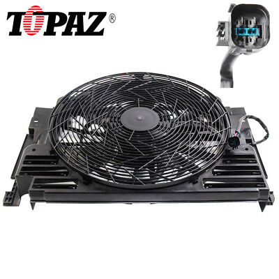 Fit 00-06 BMW E53 X5 5 Blade A/C AC Radiator Condenser Cooling Fan 64546921381