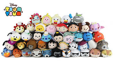 270 Styles Disney TSUM TSUM Cartoon Mickey Mini Plush Soft Toys Dolls With Chain