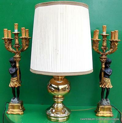 Superb First Quality Large Art-Deco Ceramic Table Lamp With Lampshade