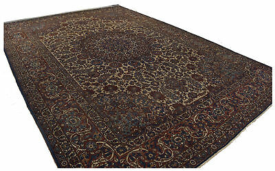 380x265 CM Original Hand Made  Carpet, Tappeto, Tapis, Teppich,