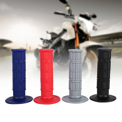 "1 Pair 22mm 7/8"" Soft Throttle Hand Handle Grips For Motorcycle Pit Dirt Bike DY"