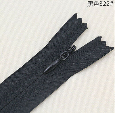 30PCS Nylon Invisible Zippers Tailor Sewing Accessories