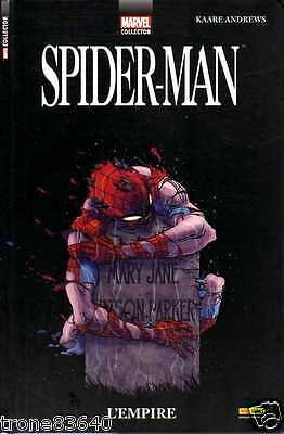 MARVEL collector-KAARE ANDREWS/..SPIDER-MAN l'empire../PANINI COMICS 2014