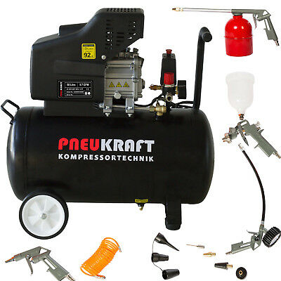 Air compressor - European brand  -50L LITRE 1.5HP Option Air Tool Kit