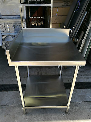 Brand New Stainless Steel Corner Bench 650 x 650 x 900 mm