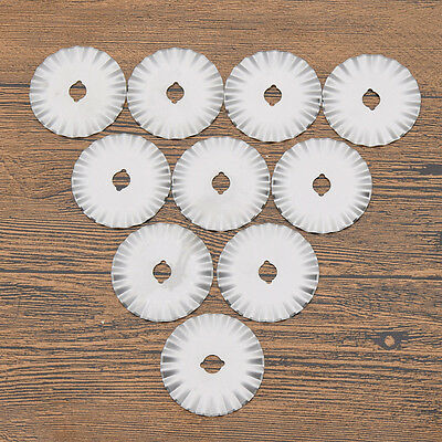 45mm Rotary Cutter Blade for Paper Fabric Cutting Craft Tool Stainless Steel