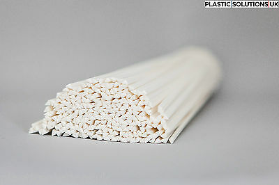 PP Plastic welding rods 4mm white triangle 30 pcs /polypropylene/