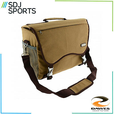 Dawes Traditional Heritage Canvas Side Pannier Bag 16L Bike Cycle Touring New