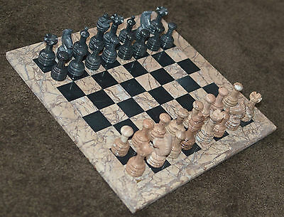 Granite Chess Set in Collector's Box
