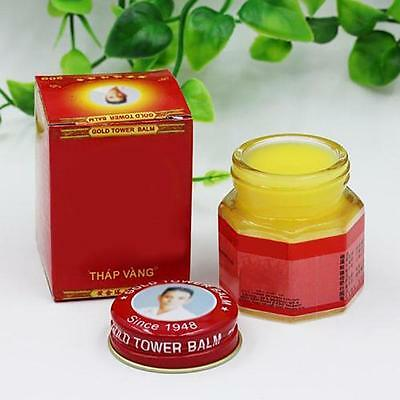 Vietnam Gold Tower Balm Ointment Pain Relieving Patch Massage Neck Arthritint AB