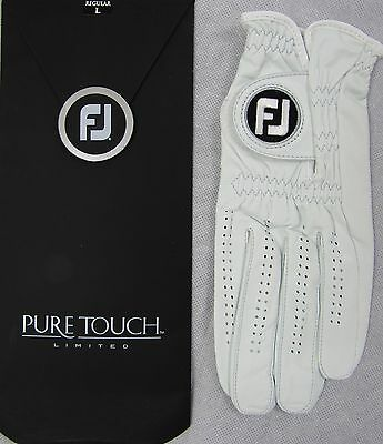 Footjoy Pure Touch Golf Glove RRP£30 S M L -  LH for RH'ed Golfer