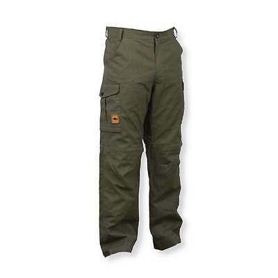 Prologic Green Cargo Trousers Pants 100% Cotton Carp Fishing M, L, Xl, Xxl