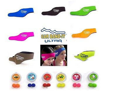 ULTRA Ear Band-it Swim Bathe Surf Ultra Grip Comfort Strength Band FREE PUTTY
