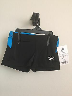 NEW  GK Turquoise Curve Camp Shorts Size Adult XS
